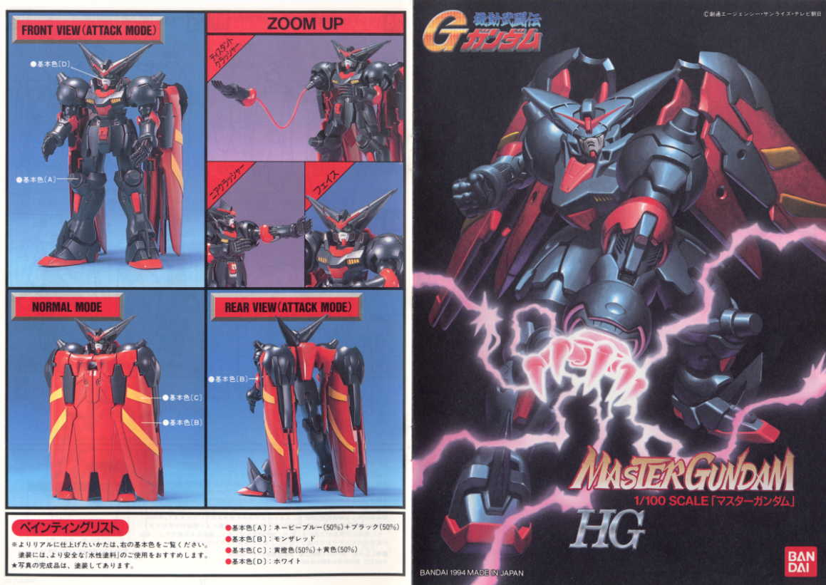 Image result for HG 1/100 Master Gundam